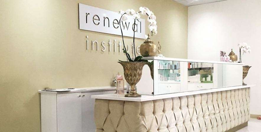Sleep Renewal Stellenbosch reception area at Die Boord Shopping Centre