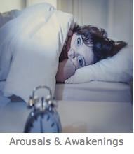 Arousals and awakenings